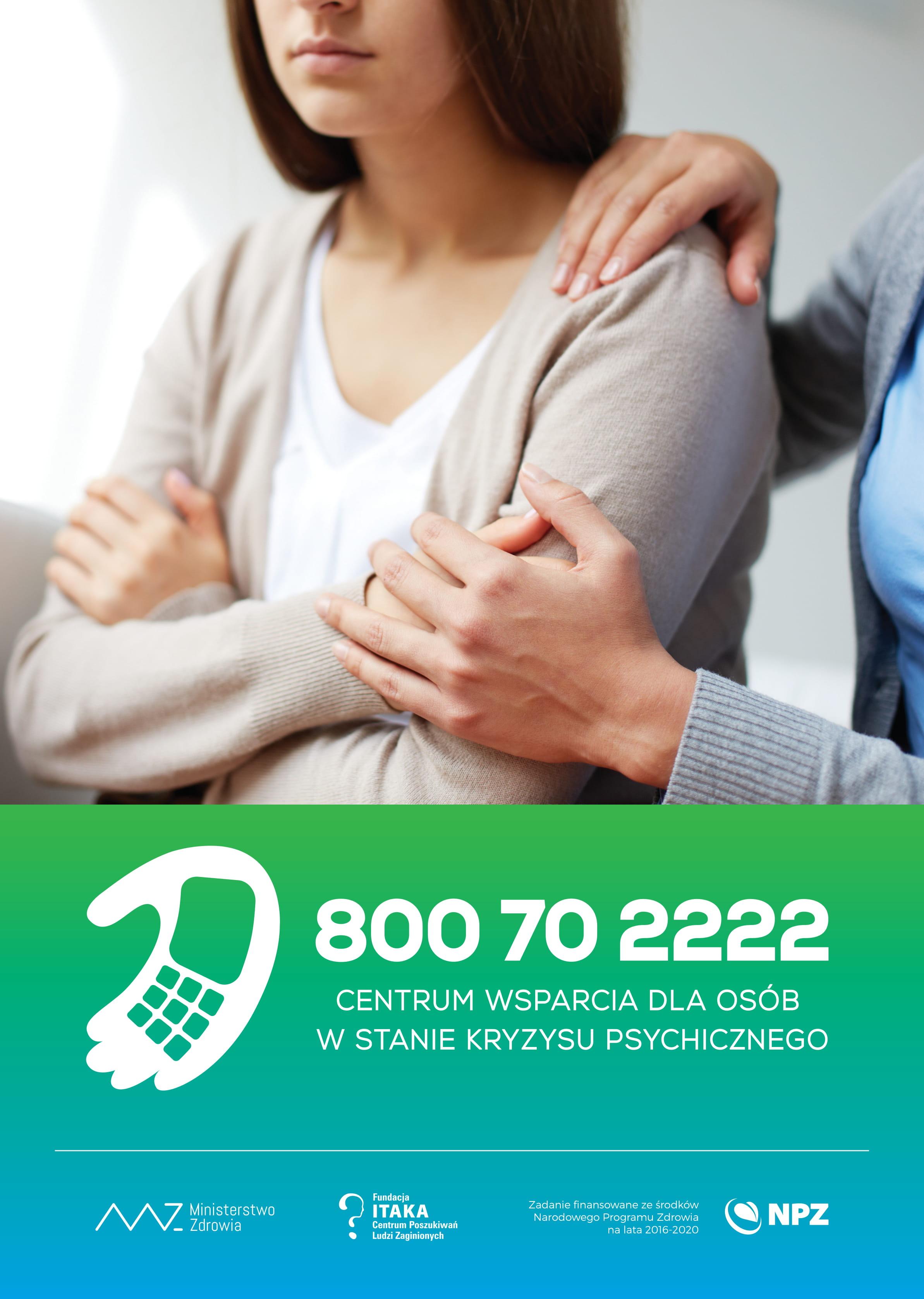 Ilustracja do informacji: Centrum Wsparcia Dla Osób w Stanie Kryzysu Psychicznego